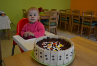 Stravování-narozeninový dort pro nejmenší z nás